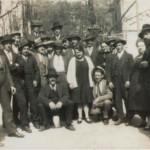 Francia anni '30 Clermont-Ferrand - gruppo di treppolani