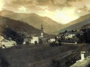 Località Cortoleces e la sua distesa di campi