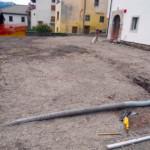 I lavori di scavo e posa delle tubazioni