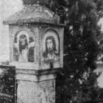 Immagine storica dell'ancona sotto la neve