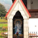 L'ancona fu costruita alla metà dell'800