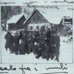 Foto con i commilitoni, slovenia 22 gennaio 1942