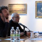 Gli autorevoli membri della giuria presenti: il regista Alberto Fasulo e Carlo Tolazzi, attore di teatro, drammaturgo e docente all'accademia teatrale Nico Pepe di Udine.