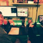 Chicco Sound e Dj Evan durante la diretta del Chicco Sound Show