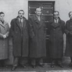 I fratelli Lazzara: da sinistra Emma, Basilio, Vittorio, Pietro e Rosa