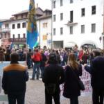Novembre 2010 - L'intensa partecipazione di moltissime persone da tutta la Carnia.