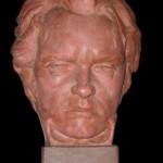 L'opera donata al Comune di Treppo Carnico raffigurante Ludwig van Beethoven