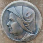 Ritratto di Maria Frigeri realizzato da Vittorio Urbano