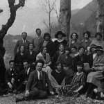 Fine anni Venti - Il corpo insegnanti della Direzione Didattica di Paluzza