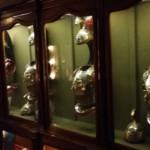 Le corazze storiche in esposizione nella nostra caserma