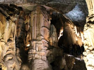 Dettaglio delle composizioni della grotta